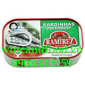 Cá mòi sốt cà Ramirez 125g