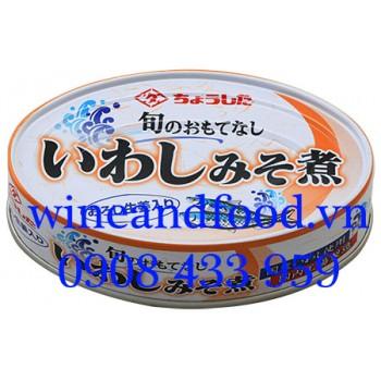 Cá mòi sốt nấu Miso và Gừng không dầu 100g