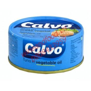 Cá ngừ ngâm dầu Calvo 160g