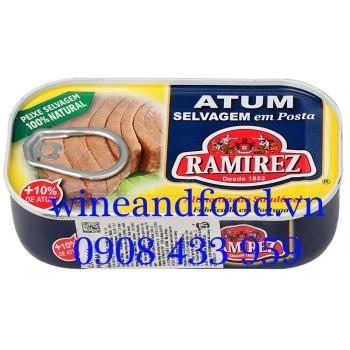Cá ngừ ngâm dầu Ramirez 120g