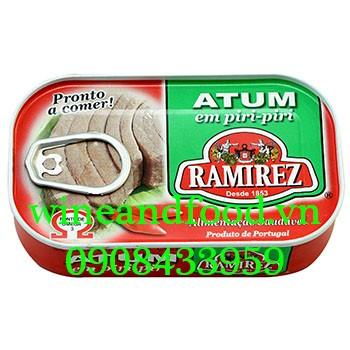 Cá ngừ sốt cay Ramirez 120g