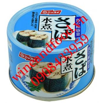 Cá thu hấp Nissui Nhật Bản 160g