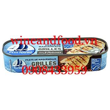 Cá thu nướng muối tiêu Petit Navire 110g