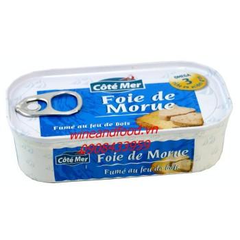 Gan cá Tuyết ngâm dầu Côté Mer 120g