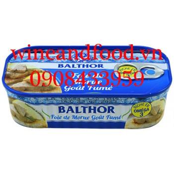 Gan cá Tuyết xông khói Balthor 121g