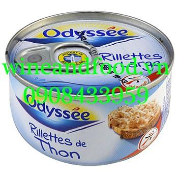 Pate cá ngừ Odyssee 125g