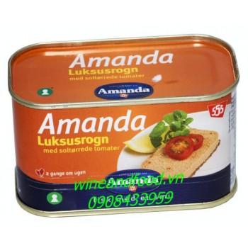 Trứng cá với cà chua Amanda 200g