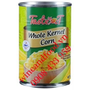 Bắp hạt đóng hộp Taste T whole Kernel Corn 420g