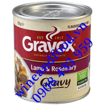 Thịt Cừu nướng với lá Rosemary Gravox hộp 120g
