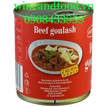 Thịt bò hầm kiểu Hungary Beef Goulash Podravka 300g