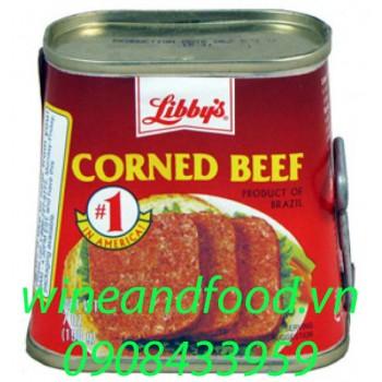 Thịt bò hộp Corned Beef Libby's 340g
