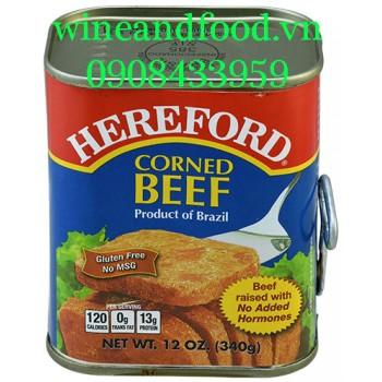 Thịt bò hộp Corner beef Hereford 340g