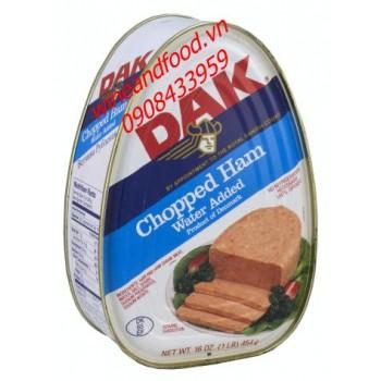 Pate heo Chopped ham Dak 454g