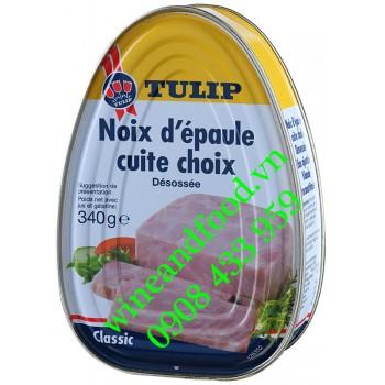 Thịt Heo hộp Cuite Choix Classic Tulip 454g