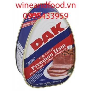 Thịt hộp Dak fully cooked 454g
