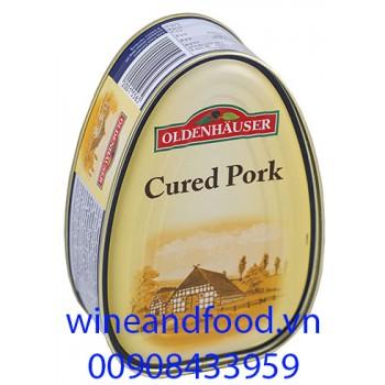 Thịt hộp nạc vai Cured Pork Oldenhauser 175g