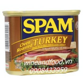 Thịt hộp Spam Turkey 340g