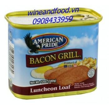 Thịt xông khói nướng American Pride 340g