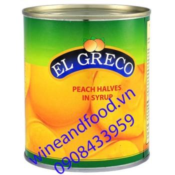 Đào ngâm El Greco 820g