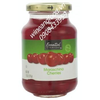 Trái Cherry ngâm Essential 283g