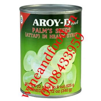 Trái dừa nước đóng hộp Aroy D 340g