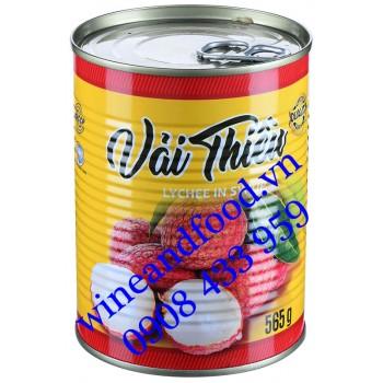 Trái Vải Thiều đóng hộp Foodclub 565g