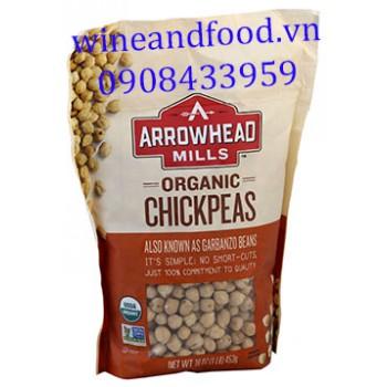 Đậu gà Chickpeas Organic Arrowhead Mills 453g