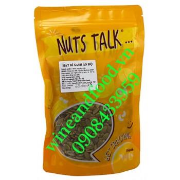 Hạt bí xanh Ấn Độ Nuts Talk 250g