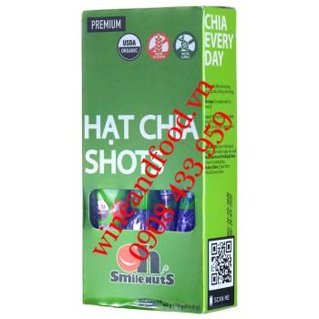 Hạt Chia Organic Shots Oh Smile Nuts 10 gói