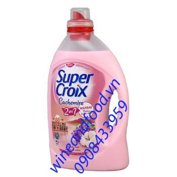 Nước xả vải Super Croix hương tử đinh hương 3l