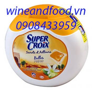 Viên giặt Super Croix nhập từ Pháp 600g