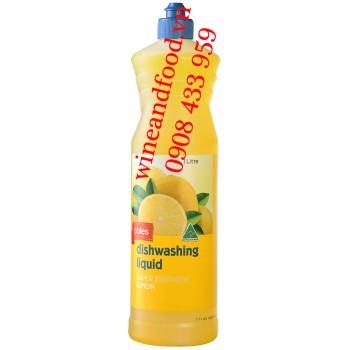 Nước rửa chén Coles hương Chanh 1 Lít