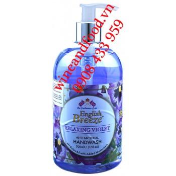 Nước rửa tay diệt khuẩn English Breeze Relaxing Violet 500ml