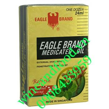 Dầu gió Con Ó vàng Eagle Brand 24ml