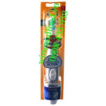 Bàn chải đánh răng chạy pin Spinbrush Pro Clean Medium Arm & Hammer