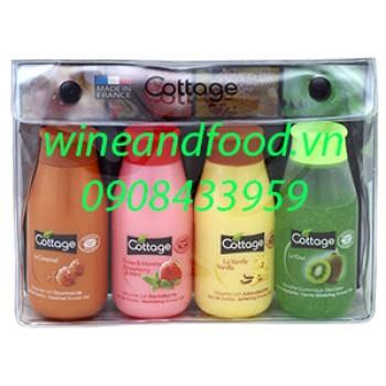 Bộ sữa tắm mini Cottage 4 chai