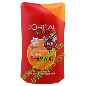 Dầu gội L'oreal Kids cheeky cherry almond 250ml