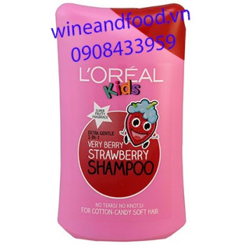 Dầu gội L'oreal Kids Strawberry 250ml