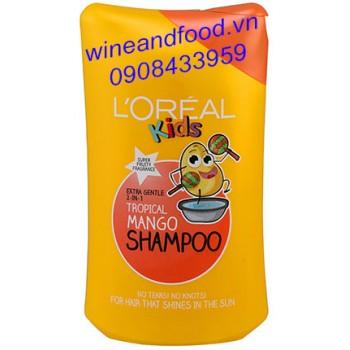 Dầu gội L'oreal Kids Tropical Mango 250ml