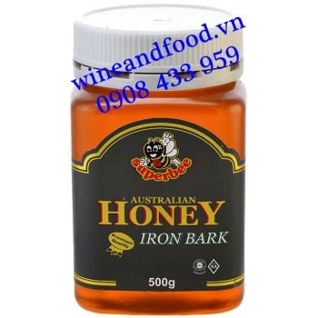 Mật Ong Superbee Iron Bark Úc hũ 500g