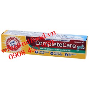 Kem đánh răng Arm & Hammer Completecare Whitening Deep Cleaning 120ml