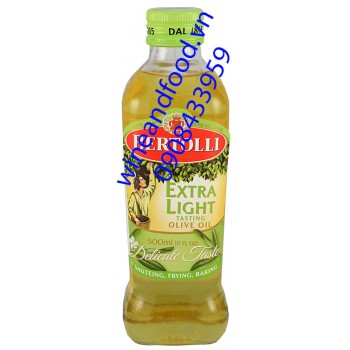 Dầu oliu Extra Light Bertolli 500ml