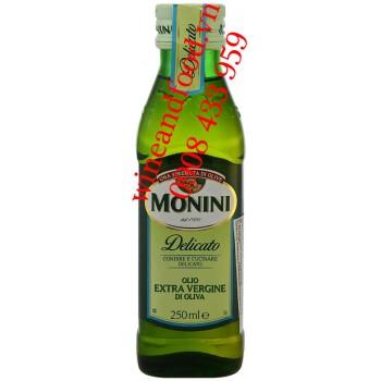 Dầu Oliu Monini Delicato Extra Vergine 250ml