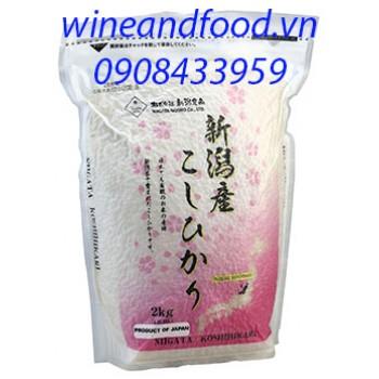 Gạo Nhật Niigata Koshihikari 2kg