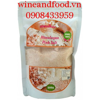 Muối hồng Himalaya Pink Salt Himasalt 500g