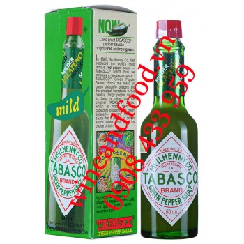 Tương ớt Tabasco xanh green pepper sauce 60ml