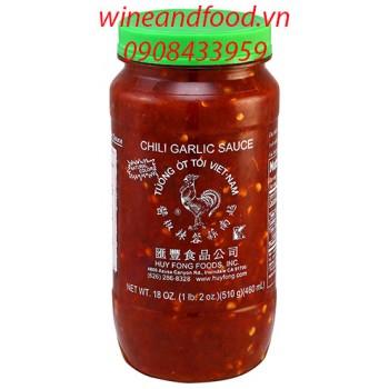 Tương ớt tỏi Sriracha con gà 510g