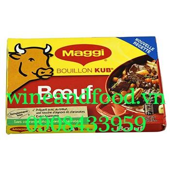 Viên bột nêm Maggi bò Pháp hộp 18 viên