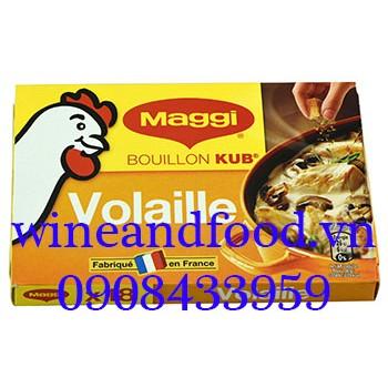 Viên bột nêm Maggi gà Pháp hộp 18 viên