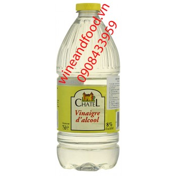 Giấm trắng Chatel 75cl